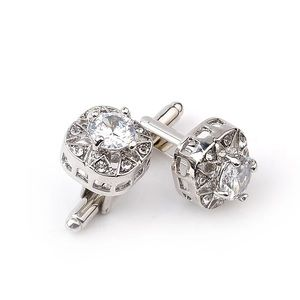 Luxury Crystal Gentleman's Cufflinks